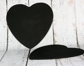 Large Chalkboard Heart, Set of 2