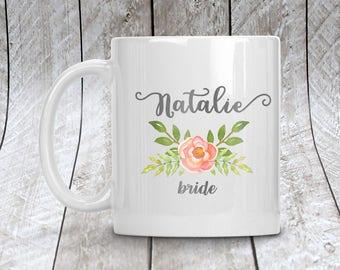 Personalized Bride Mug