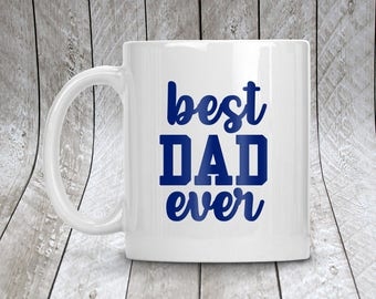 Best Dad Ever Personalized Coffee Mug,