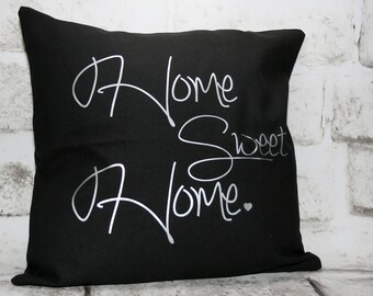 Home Sweet Home Pillow Cover, 16x16