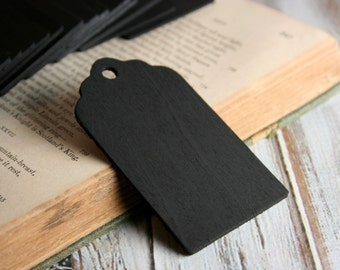 Scallop Chalkboard Tags, Set of 10