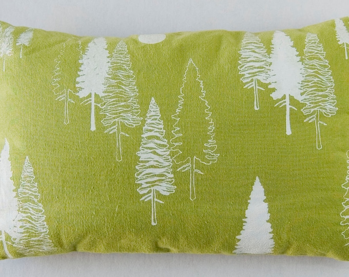 "11""x7"" Balsam fir pillow ""TREES"" / Coussin aromatique au sapin baumier ""ARBRES"""