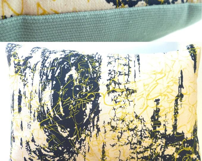 """11""""x7"""" Balsam fir pillow """"BIRCH BARK"""" / Coussin aromatique au sapin """"BOULEAU"""""""