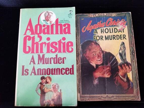 Set Of 2 Vintage Agatha Christie Mysteries Etsy