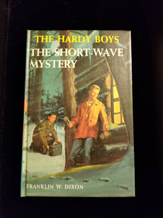 Vintage 1966 Hardy Boys The Short Wave Mystery 24 Etsy