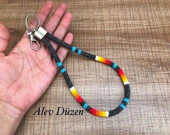 Traumfänger Schlüsselanhänger Miniblings Traum Spirituell Indianer Boho Silbern