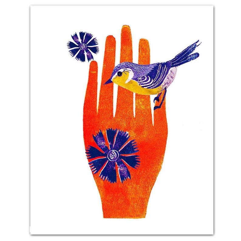 JOY  ART Print 8 x 10 image 0