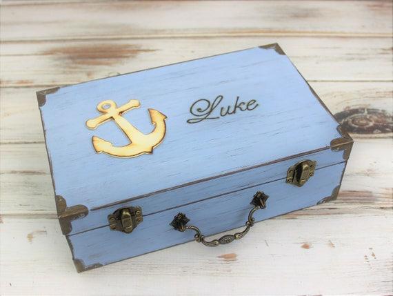1st Birthday Box Memory Boxes Keepsake Box Baby S Time Capsule Baptism Keepsake First Communion Personalized Box Baby Shower