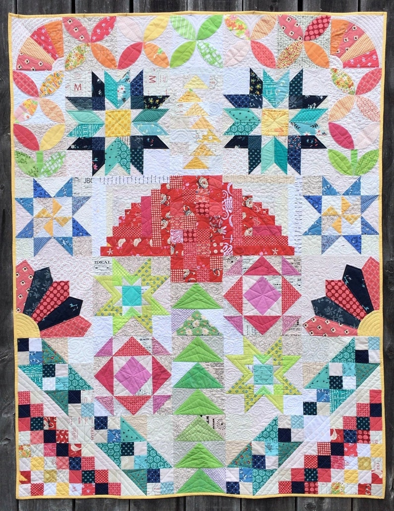 Fresh & Scrappy Block of the Month Club 2019  PDF image 0