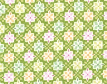 Honey Honey Green Fabric
