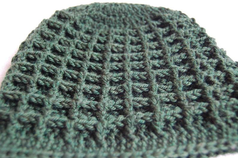 Waffle Hat Crochet Pattern  77fcebacaf4