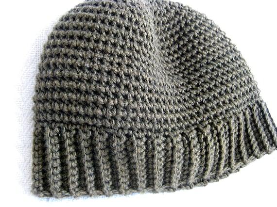 Mens Thermal Hat Crochet Pattern Etsy
