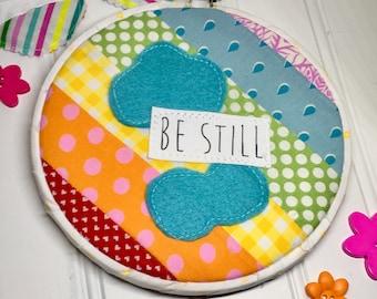 Be still rainbow hoop