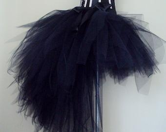 Black Burlesque Tutu Skirt