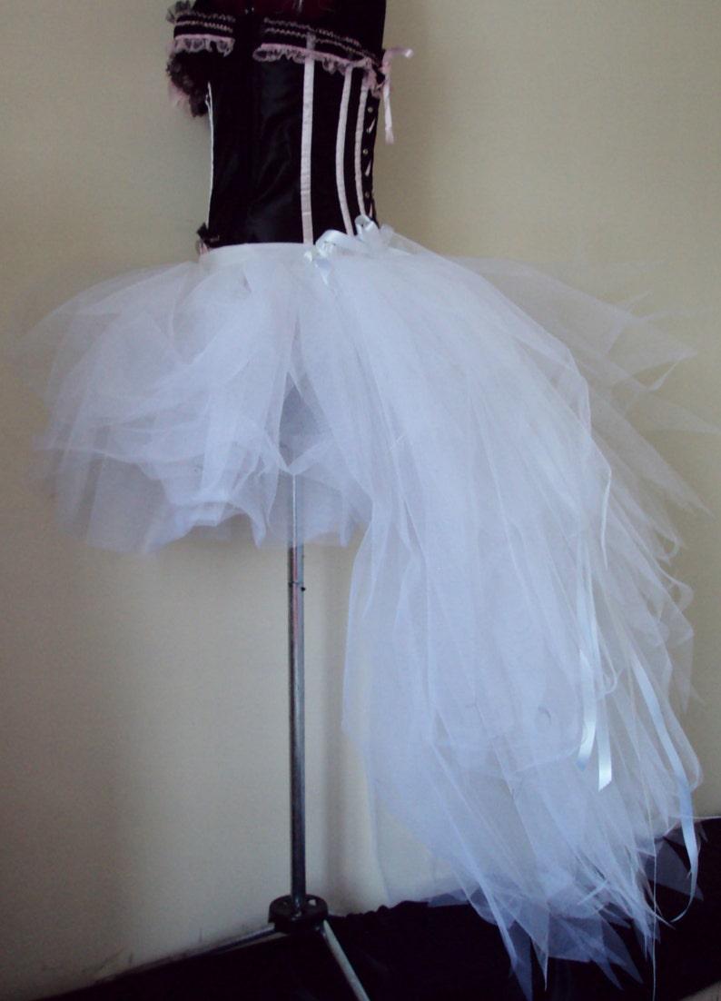 White Tutu Skirt Burlesque Bridal  U.S.2 4 6 8 U.K.6 8 10 12