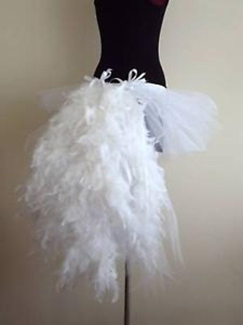 7575ac226e3 White Swan Tutu skirt Burlesque all sizes avaliable
