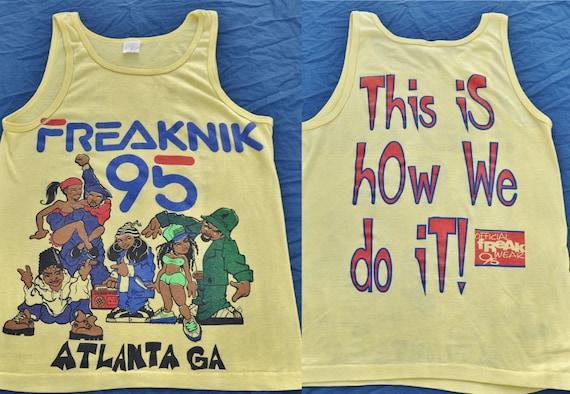 Rare 1995 Freaknik Tank Top Shirt Hop Hop Atlanta