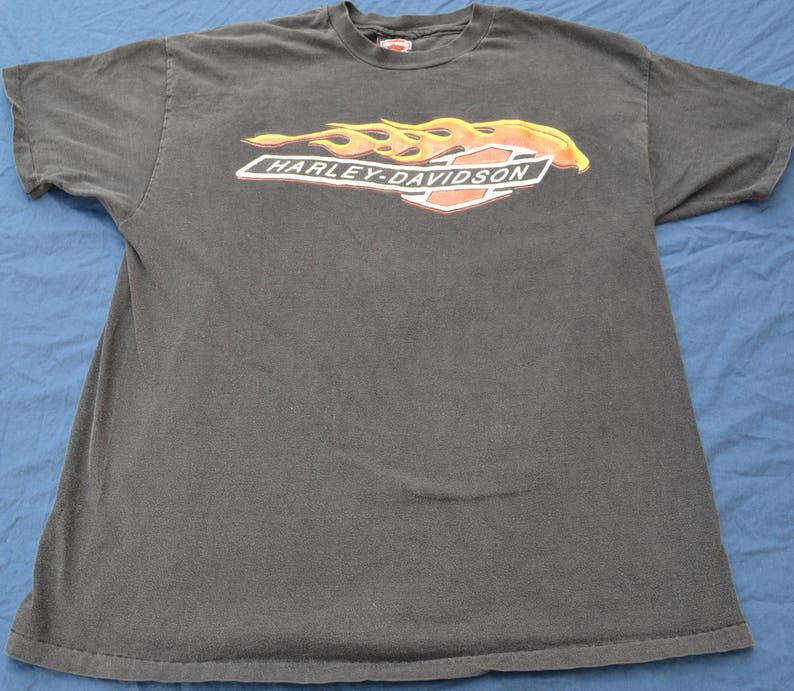 623a654e 90's Harley Davidson Dallas Texas T-Shirt Original XL | Etsy