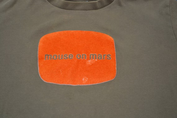 Rare 90's Mouse On Mars Shirt Size L Synth Pop El… - image 2