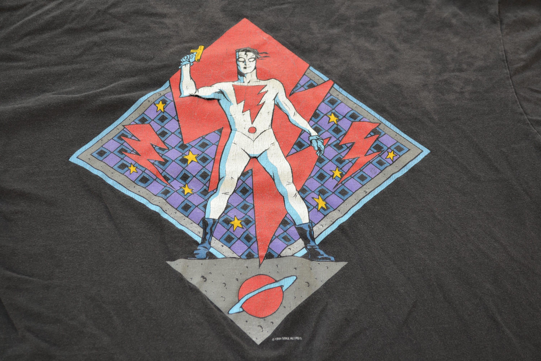 1994 Mike Allred fou chemise taille XL Comic Book T-Shirt T-Shirt Book Tee Goth horreur culte industriel Sandman aa87fa