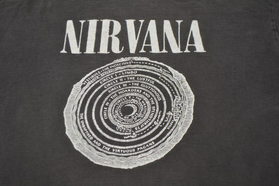 Rare 1992 Nirvana Hell Fudge Packin XL T-Shirt Kur