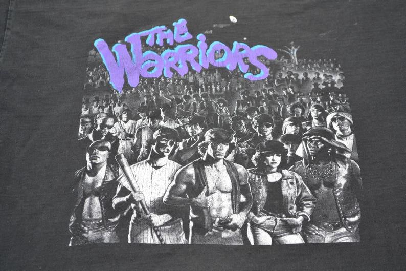 d4bd1950 Thrashed 90's The Warriors Movie Shirt T-Shirt Tee XL | Etsy