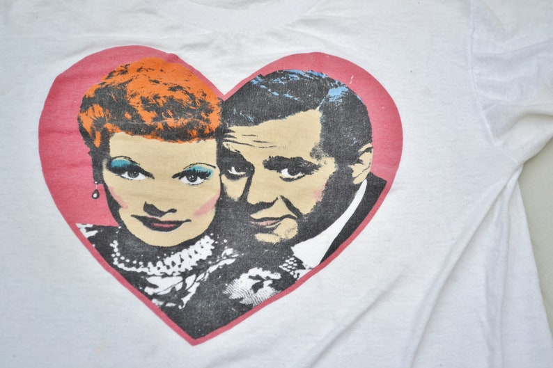 617461fa 80's I Love Lucy T-Shirt Tee Classic TV Icon Commercial | Etsy