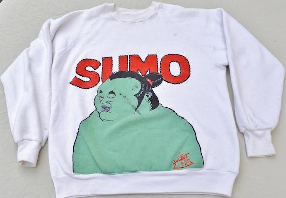 Rare 80's Dimitri's SUMO Sweatshirt Shirt Size L T