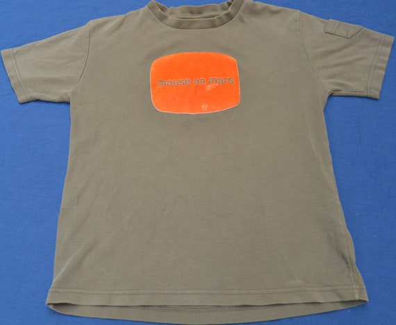 Rare 90's Mouse On Mars Shirt Size L Synth Pop Ele