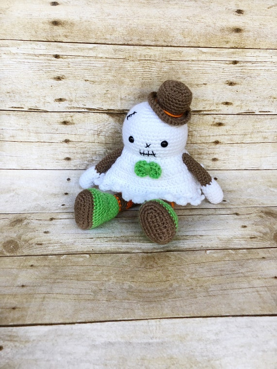 Amigurumi Crochet Ghost Pattern ⋆ Crochet Kingdom | 760x570