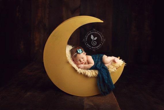 Moon photo prop newborn photography prop moon moon prop