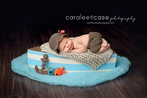 boat diy baby photography props