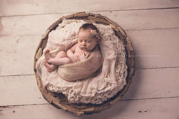 Driftwood bowl prop newborn photo prop basket prop