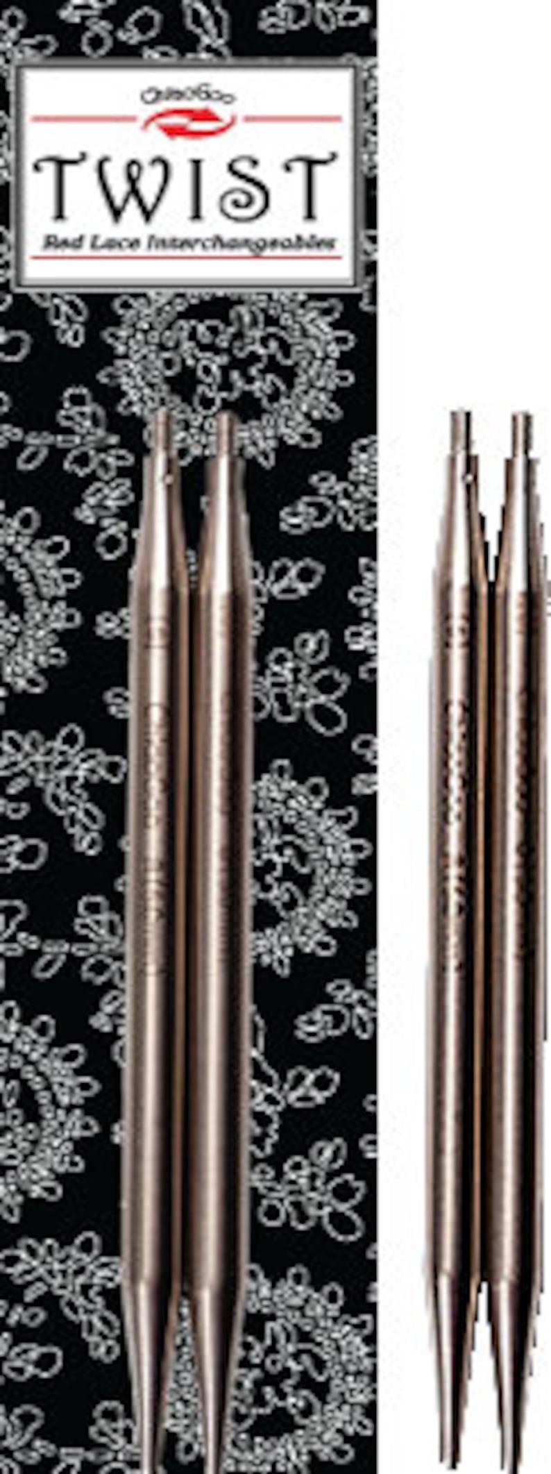 7505 ChiaoGoo 5 Lace Tips Sizes 000-15