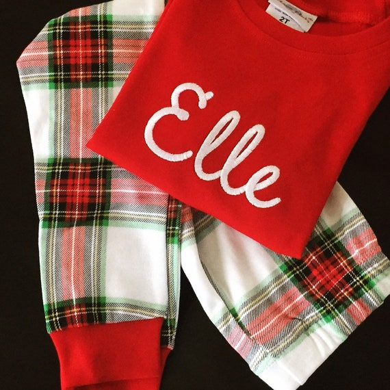 image 0 - Plaid Christmas Pajamas