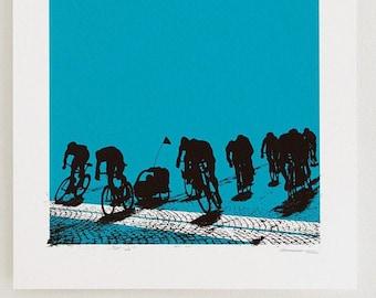 Proud Papa - Artcrank Minneapolis 2012 Screen Printed Bike Poster
