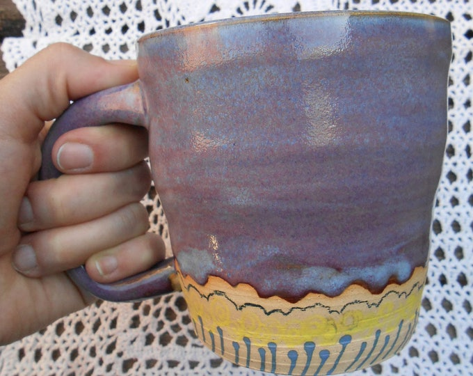 Large Lavender Fields Ceramic Mug