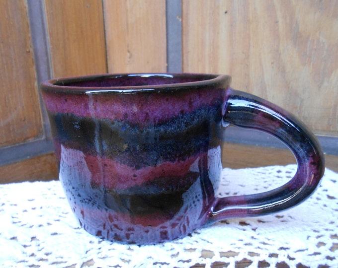 Outerspace Ceramic Thrown Mug