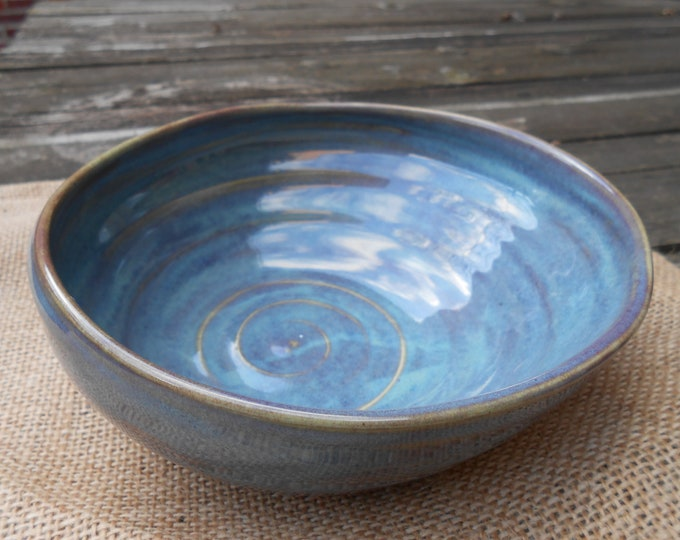 Sunrise Carved Ceramic Bowl