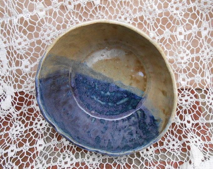Seashore Wood Fired Ceramic Bowl