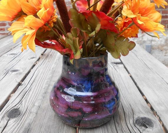 Celestial Ceramic Vase
