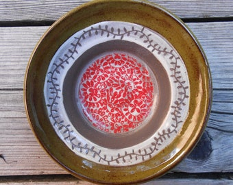 Vine Ceramic Thrown Dish