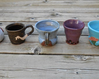 Art Nouveau Line of Ceramic Mugs