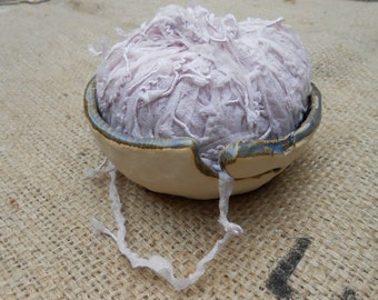 Large Lacy Ceramic Yarn Bowl ON SALE