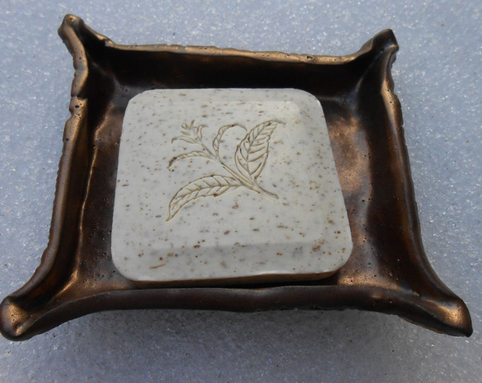 Golden Lace Clay Soap Dish ON SALE