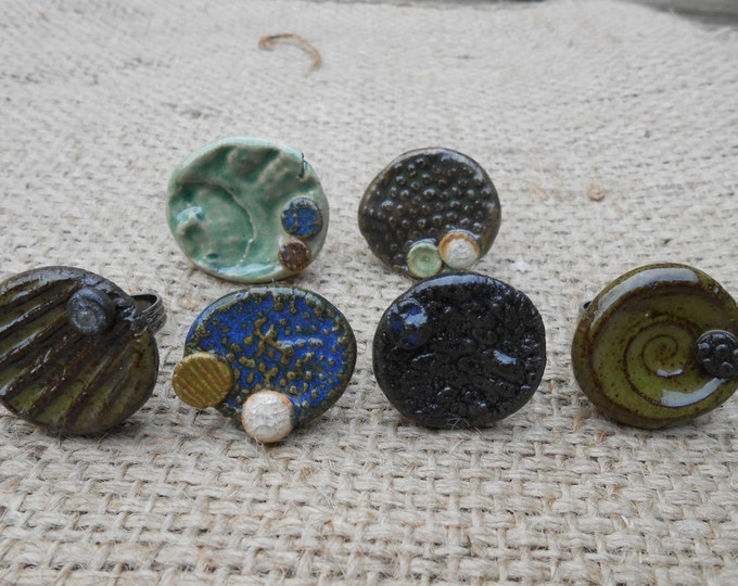 Clay Beach Rings ON SALE