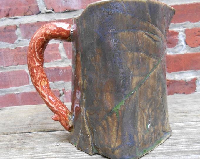 Ceramic Leaf Pitcher