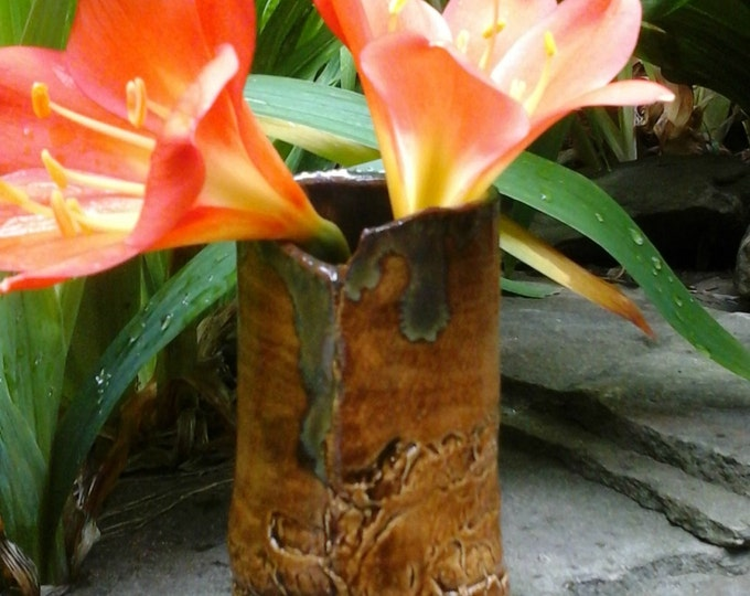 Branched Clay Bud Vase ON SALE