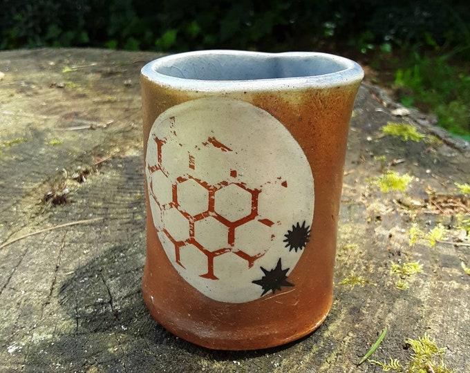 Moon Landing Clay Mug
