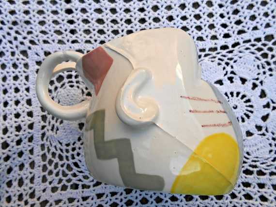 Totally Rad Ceramic Baby Head Mug